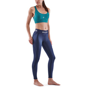 Skins Series-1 Lange strømpebukser Damer, blå